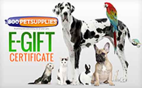 Buy 1800PetSupplies Gift Cards