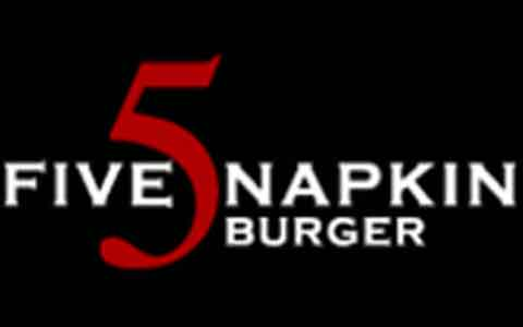 Buy 5 Napkin Burger Gift Cards