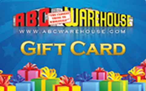 Buy ABC Warehouse Gift Cards