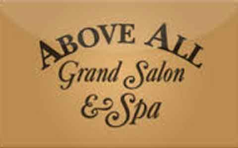 Buy Above All Grand Salon & Spa Gift Cards