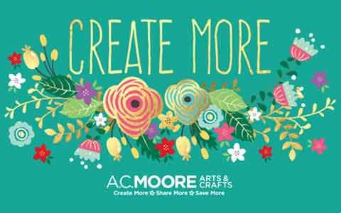 Buy AC Moore Gift Cards