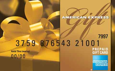 Buy American Express Gift Cards