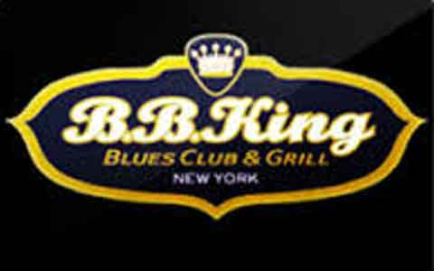 Buy B.B.King Blues Club & Grill Gift Cards
