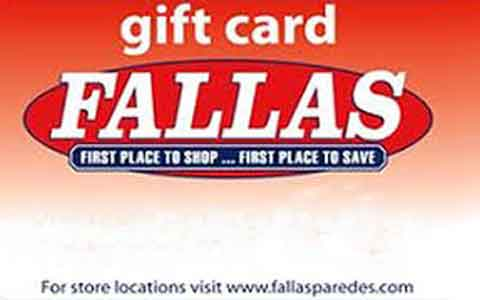 Buy Fallas Gift Cards