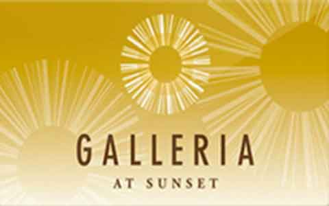 Buy Galleria at Sunset Gift Cards