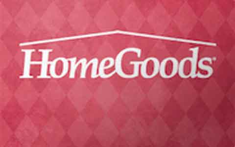 Buy HomeGoods Gift Cards