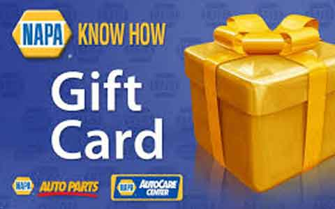 Buy Napa Gift Cards