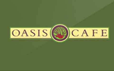 Buy Oasis Cafe Gift Cards