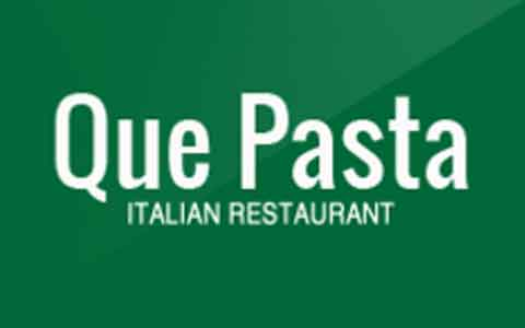Buy Que Pasta Gift Cards
