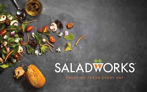 Buy Saladworks Gift Cards